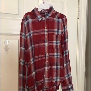 target brand high/low flannel